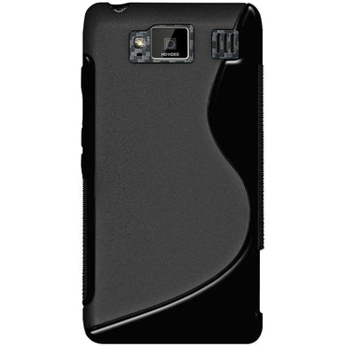 AMZER Soft TPU Hybrid Case for Motorola DROID RAZR MAXX HD XT926 - Black