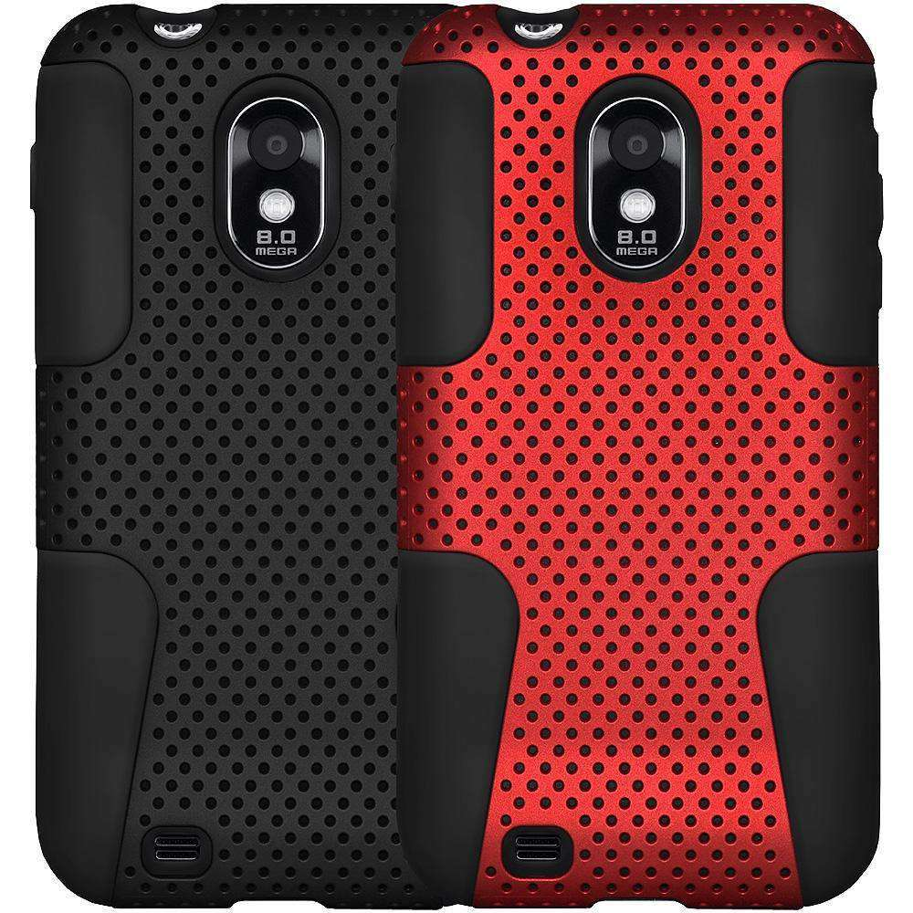 AMZER PolyCarbonate Hybrid Case for Samsung Epic 4G Touch - 2 Set