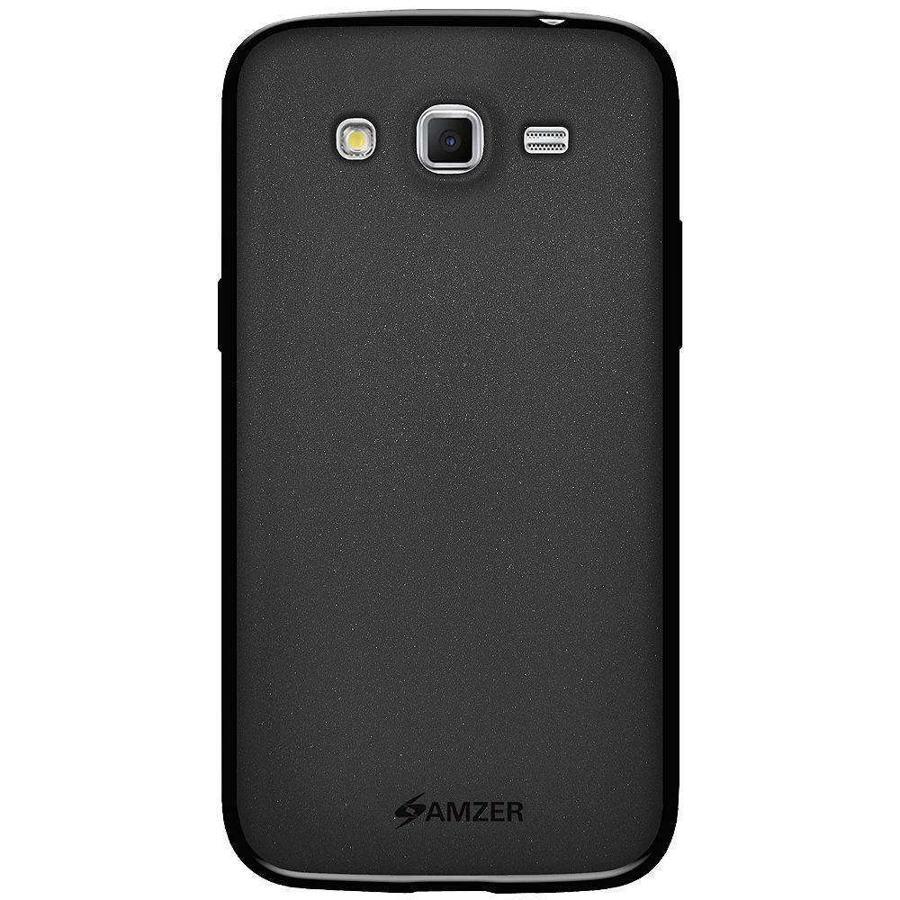 AMZER Pudding Soft TPU Skin Case for Samsung GALAXY Grand 2 SM-G7102 - Black