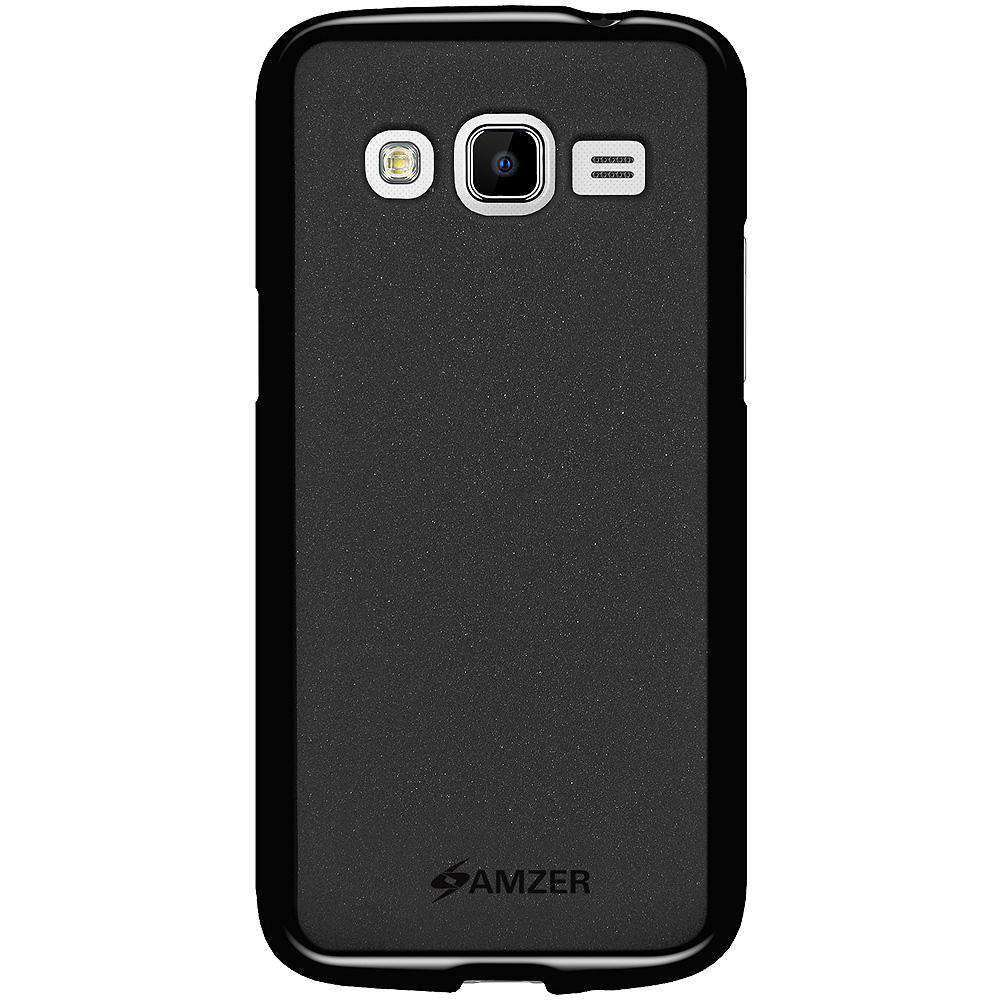 AMZER Pudding Soft TPU Skin Case for Samsung GALAXY Win Pro G3812 - Black
