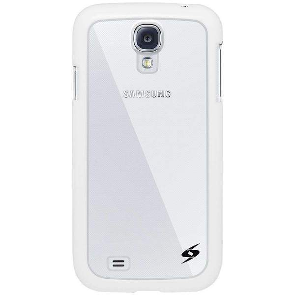 AMZER SlimGrip Bumper Hybrid Case for Samsung GALAXY S4 - White