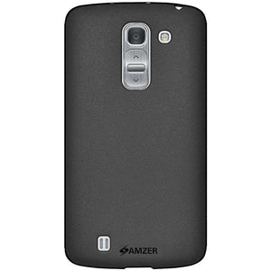AMZER Pudding Soft TPU Skin Case LG G Pro 2 D837 - Black for