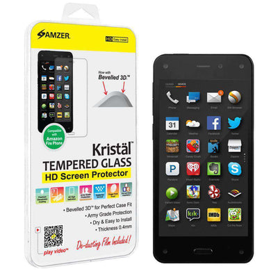 AMZER Kristal Tempered Glass HD Screen Protector for Amazon Fire Phone