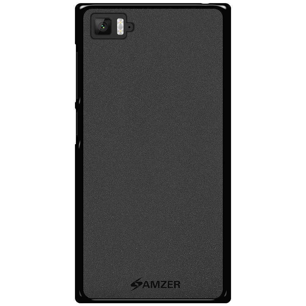 AMZER Pudding Soft TPU Skin Case for Xiaomi Mi 3 - Black