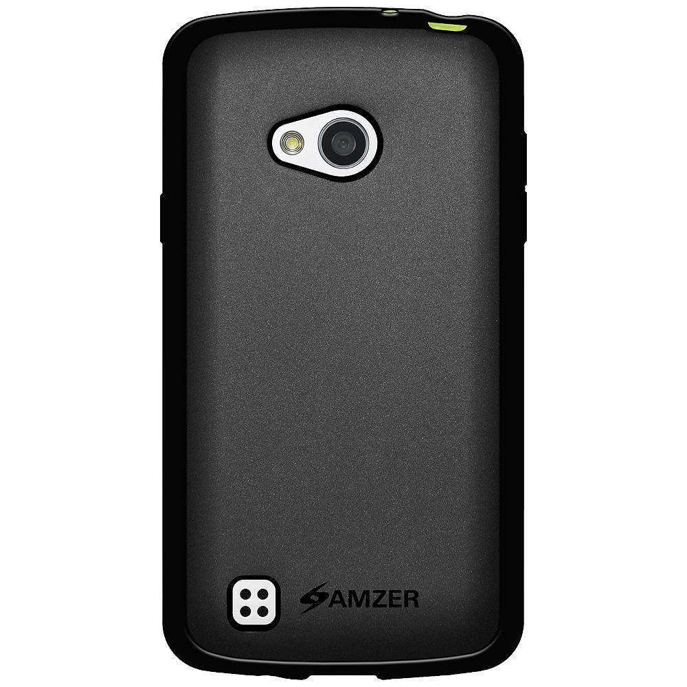 AMZER Pudding Soft TPU Skin Case for LG L50 D213N - Black