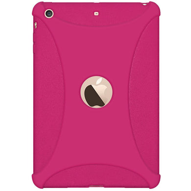 AMZER Silicone Skin Jelly Case for Apple iPad mini 3 - Hot Pink