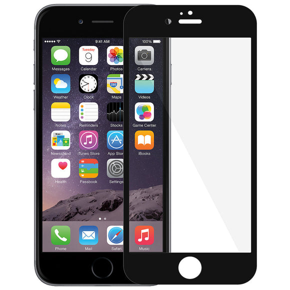 AMZER Kristal Edge2Edge Screen Protector for iPhone 6 Plus - Black - fommystore