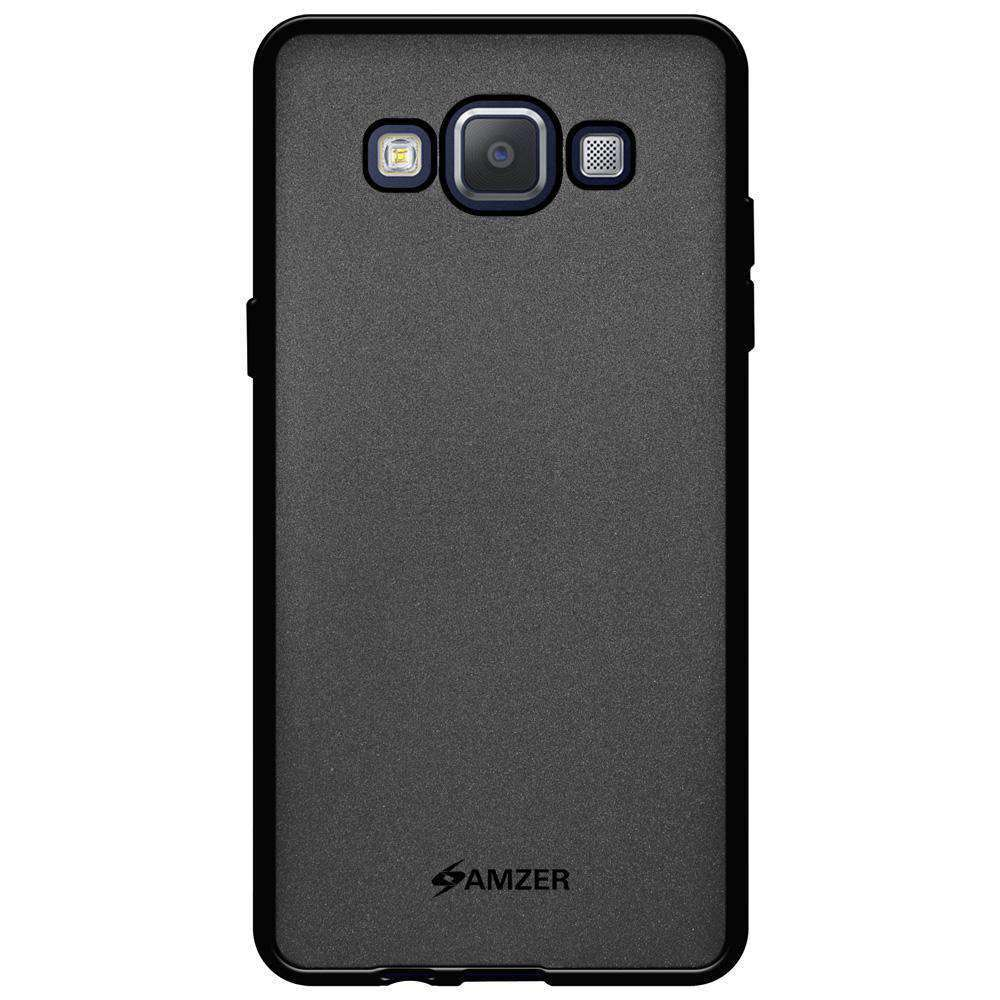 AMZER Pudding Soft TPU Skin Case for Samsung GALAXY A5 SM-A500F - Black