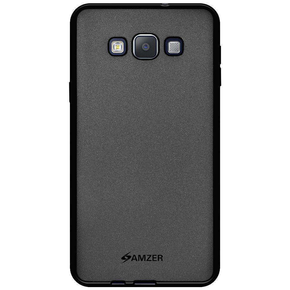 AMZER Pudding Soft TPU Skin Case for Samsung GALAXY A7 Duos - Black
