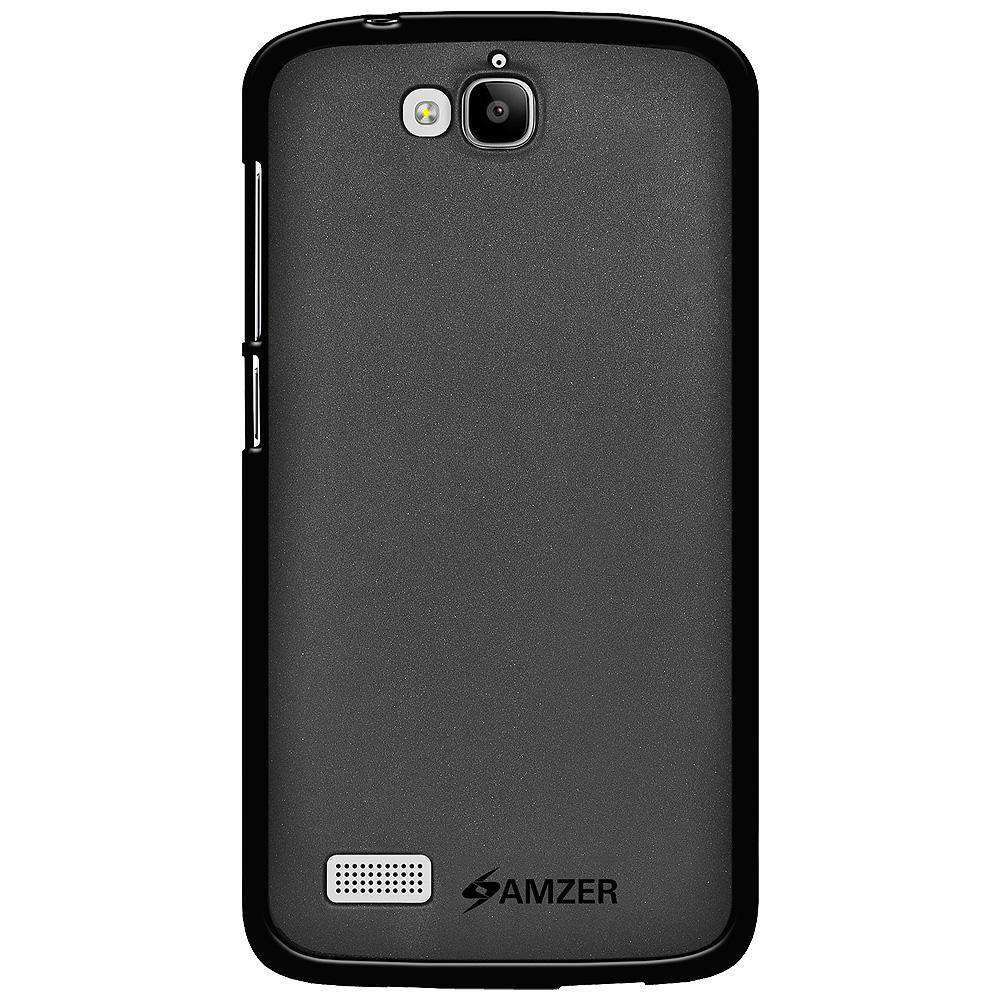 AMZER Pudding Soft TPU Skin Case for Huawei Honor Holly - Black
