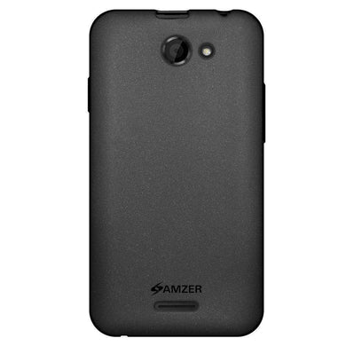 AMZER Pudding Soft TPU Skin Case for HTC Desire 516 - Black