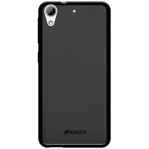 AMZER Pudding Soft TPU Skin Case for HTC Desire 626 - Black