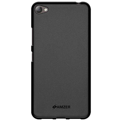 AMZER Pudding Soft TPU Skin Case for Lenovo S60 - Black - amzer