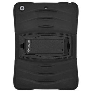 AMZER Dual Layer TUFFEN Shockproof Hybrid Cover for iPad Air - Black - amzer