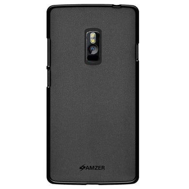 AMZER Pudding Soft TPU Skin Case for OnePlus 2 - Black - amzer