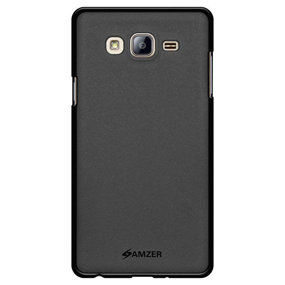 AMZER Pudding Soft TPU Skin Case for Samsung Galaxy On7 - Black