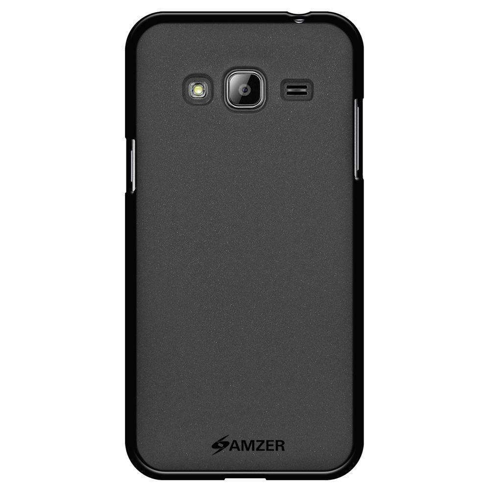 AMZER Pudding Soft TPU Skin Case for Samsung GALAXY Amp Prime SM-J320A - Black