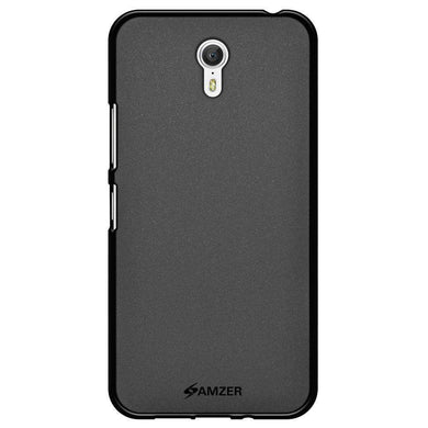 AMZER Pudding Soft TPU Skin Case for Lenovo ZUK Z1 - Black - amzer