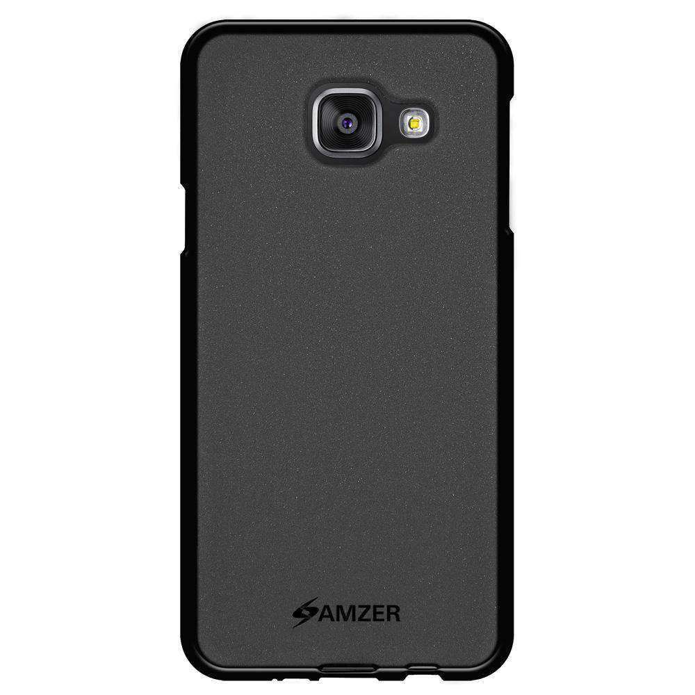AMZER Pudding Soft TPU Skin Case for Samsung GALAXY A3 2016 SM-A310F - Black