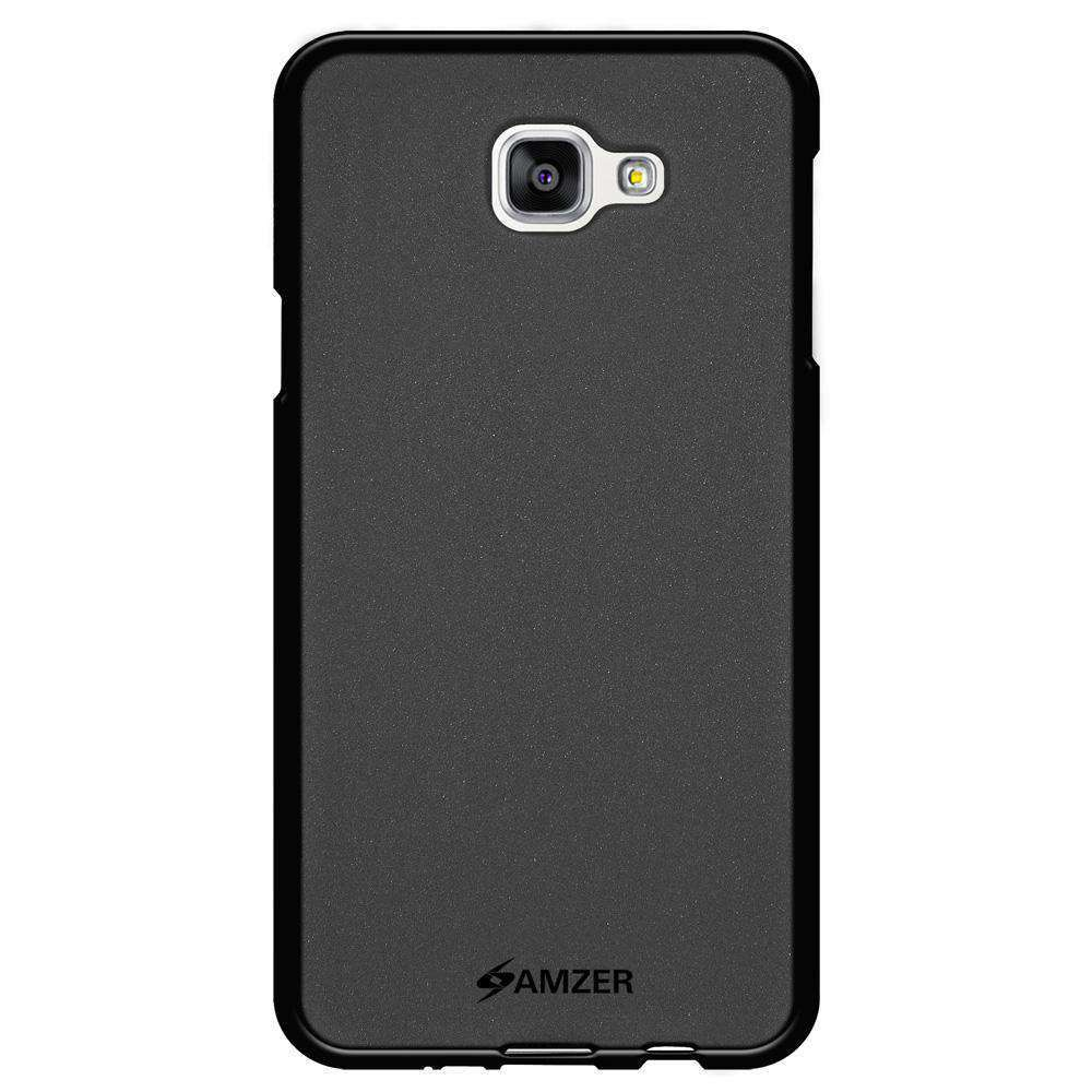 AMZER Pudding Soft TPU Skin Case for Samsung Galaxy A9 Pro - Black