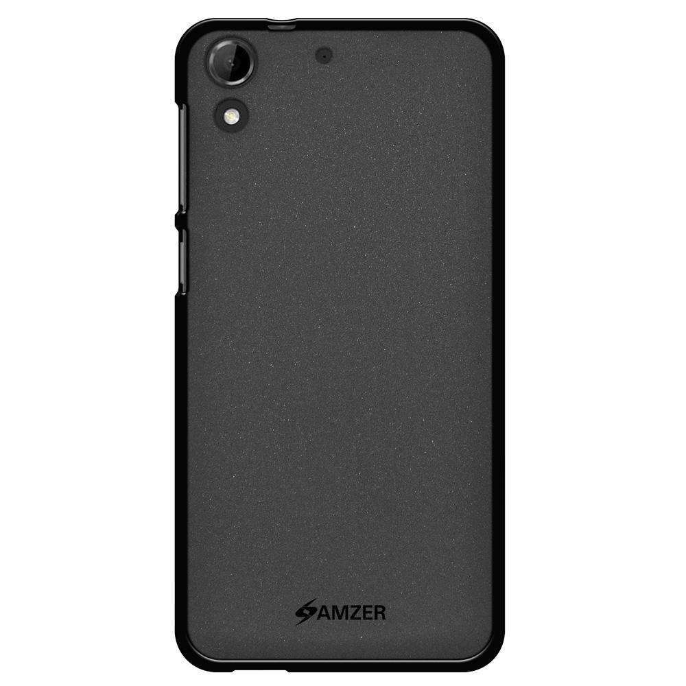 AMZER Pudding Soft TPU Skin Case for HTC Desire 728 - Black