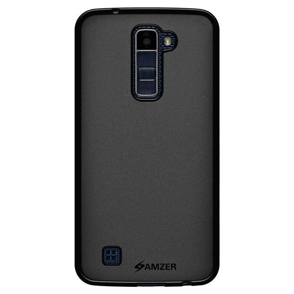 AMZER Pudding Soft TPU Skin Case for LG K10 - Black