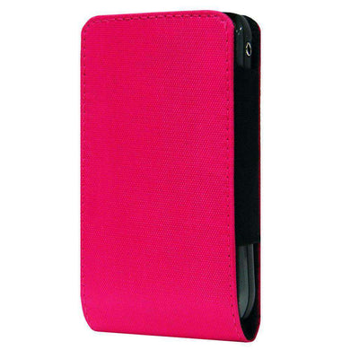 SmartPhone Slide In Neoprene Case With Belt Clip - Hot Pink for BlackBerry 7100g