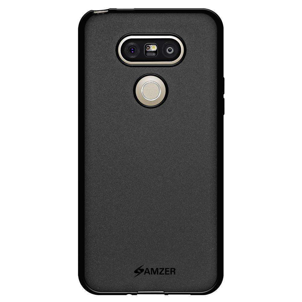 AMZER Pudding Soft TPU Skin Case for LG G5 - Black