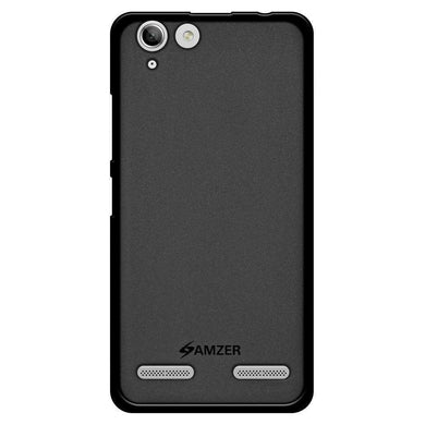 AMZER Pudding Soft TPU Skin Case for Lenovo Vibe K5 - Black - amzer