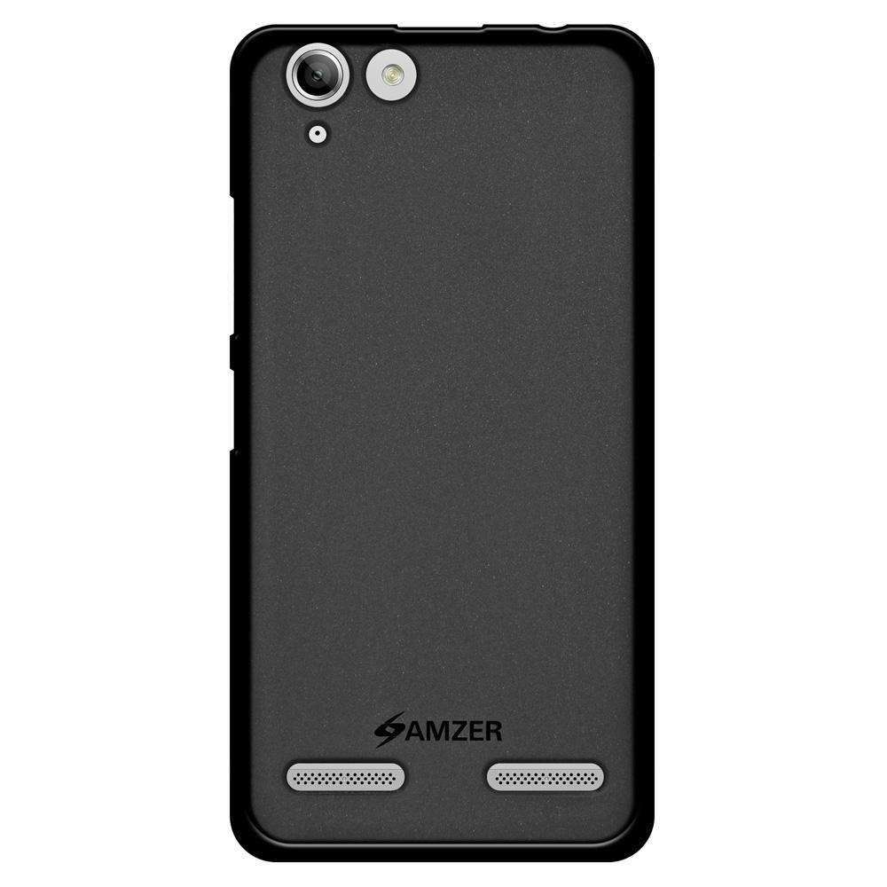 AMZER Pudding Soft TPU Skin Case for Lenovo Vibe K5 - Black
