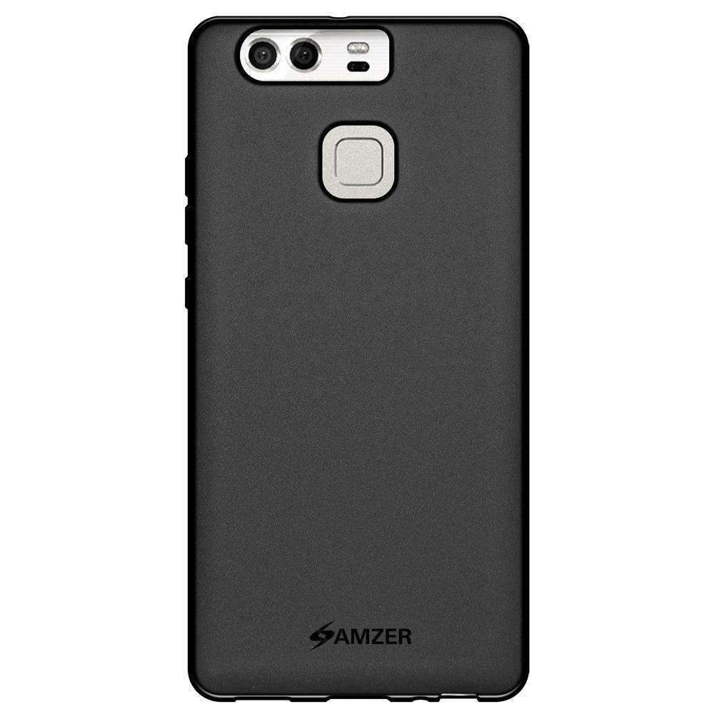 AMZER Pudding Soft TPU Skin Case for Huawei P9 - Black