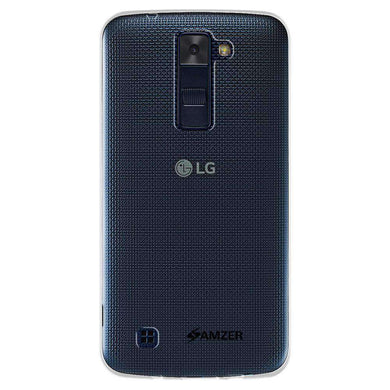 AMZER Pudding Soft TPU Skin Case for LG Escape 3 K373 - Clear - amzer