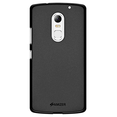AMZER Pudding Soft TPU Skin Case for Lenovo Vibe X3 - Black - amzer