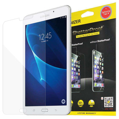 AMZER ShatterProof Screen Protector for Samsung Tab A 7.0 2016 - Front Coverage - amzer