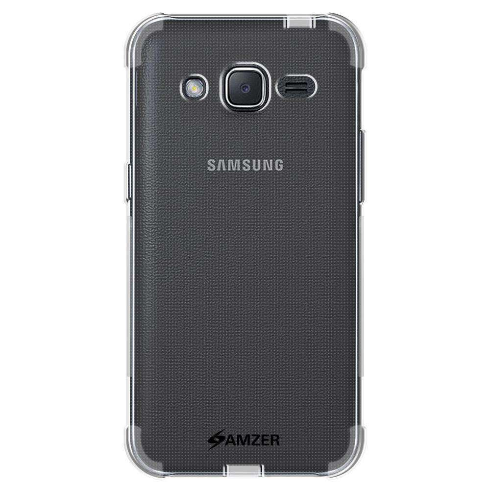 AMZER Pudding TPU Soft Skin X Protection Case for Samsung Galaxy J2 2016 - Clear