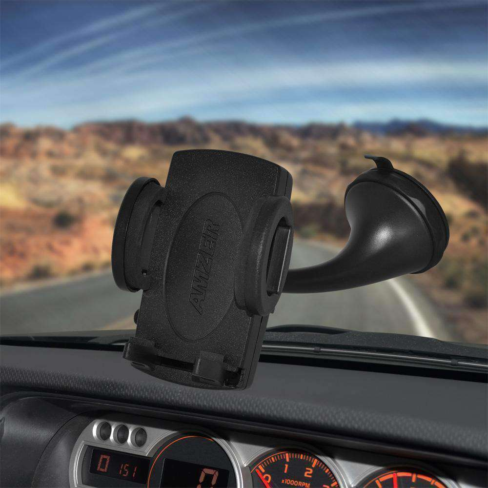 Amzer Universal Windshield suction Locking Mount - amzer