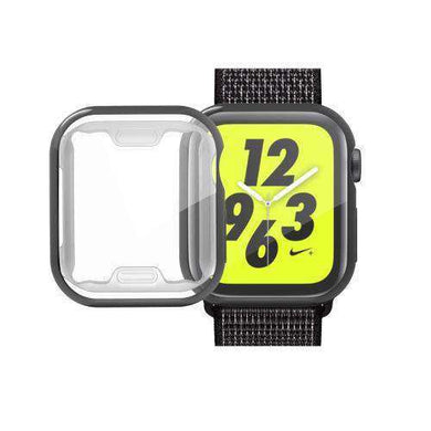 AMZER Full Coverage Plating TPU Case for Apple Watch Series 4 44mm - amzer