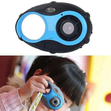 Load image into Gallery viewer, 5MP 1.5 inch Color Screen Mini Keychain Type Gift Digital Camera for Children(Blue) - amzer
