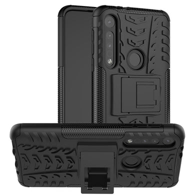 AMZER Hybrid Warrior Kickstand Case for Motorola One Macro