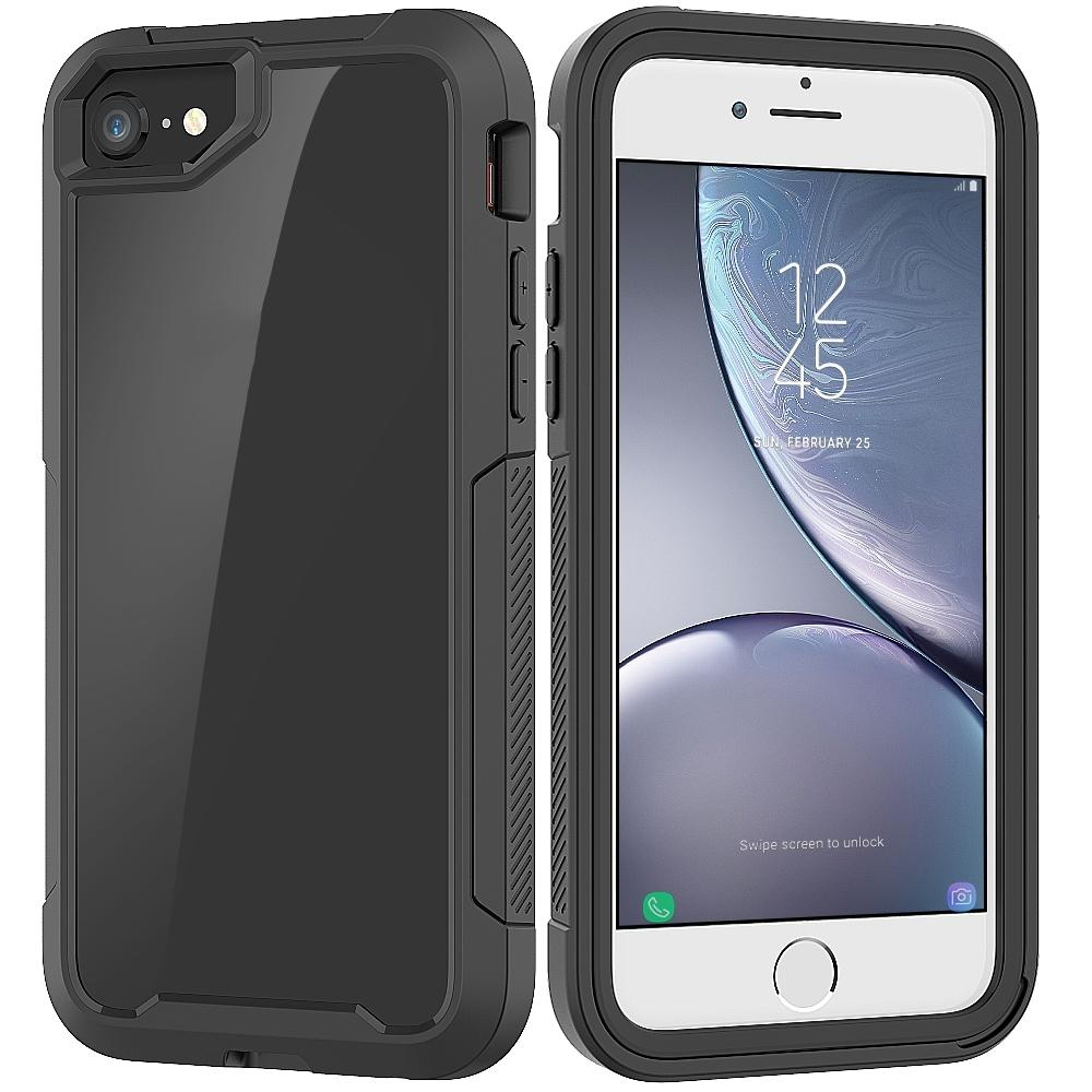AMZER Full Body Hybrid Cover With Built-in Screen Protector for iPhone 7, iPhone SE 2020