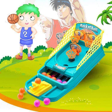 Sports Desktop Finger Shooting Crazy-shoot Hoop Mini Basketball Game Toy Gift - amzer