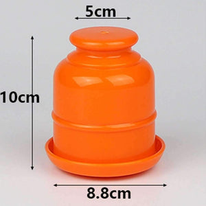 10 PCS Thickening Plastic Dice Shaker Cup with Bottom without Dice Random Color - amzer