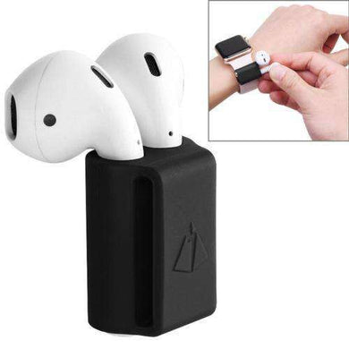 AMZER Silicone Protective Anti-lost Storage Bag For Apple AirPods - amzer