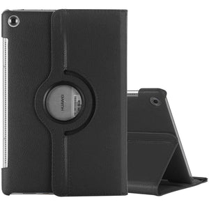 AMZER PU Leather Case With Sleep/Wake Function For Huawei MediaPad M5 10.8 Inch - Black - amzer