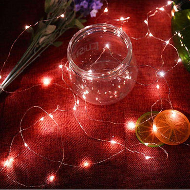 AMZER Fairy String Light 20 LED 2m Waterproof Button Battery Operated Festival Lamp Decoration Light Strip