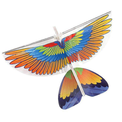 Fly Toy RC Flying Parrot with Remote Control - amzer