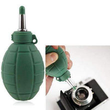 Load image into Gallery viewer, AMZER Grenade Rubber Dust Blower Cleaner Ball for Lens Filter Camera , CD, Computers, Audio-visual Equipment, PDAs, Glasses and LCD - fommystore