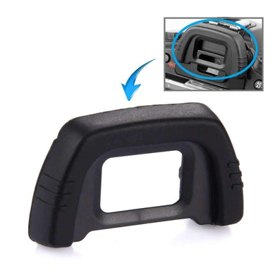 AMZER Rubber Eyecup DK-21 for Nikon D100 / D200 / D90 / D80 / D70S / D70 / D60 - Black - fommystore