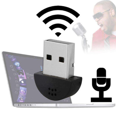 USB Mini Multimedia Recording Voice Microphone, Compatible with PC / Mac for Live Broadcast, Show, KTV, etc.(Black) - amzer