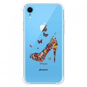 AMZER Soft Gel Clear TPU Case for iPhone Xr - fommystore